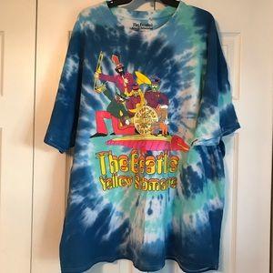 The Beatles Tie Dye Shirt